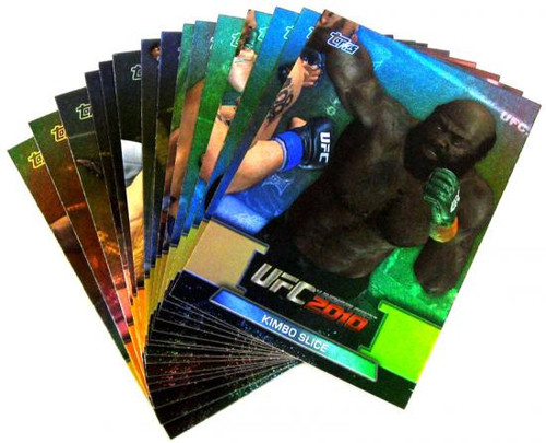 UFC 2010 Championship Greats of the Game Insert Greats of the Game Set