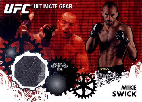 UFC 2010 Championship Ultimate Gear Relic Mike Swick UG-TD