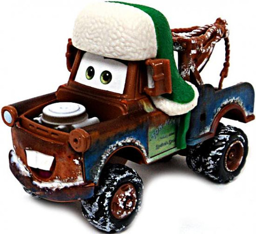 Disney Cars Loose Whee-Hoo Winter Mater Diecast Car [Loose]