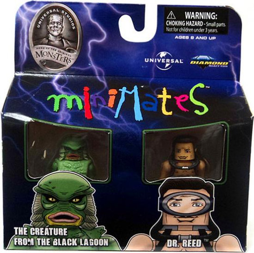 Universal Monsters MiniMates The Creature & Dr. Reed Minifigure 2-Pack