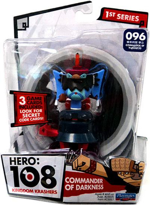 Hero: 108 Kingdom Krashers Series 1 Commander of Darkness Action Figure #096