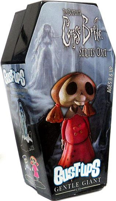Corpse Bride Bust Ups Series 1 Skeleton Girl Bust