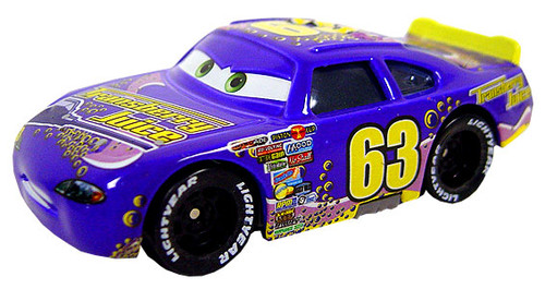 Disney Cars Loose Transberry Juice with Rubber Tires Exclusive Diecast Car [Loose]