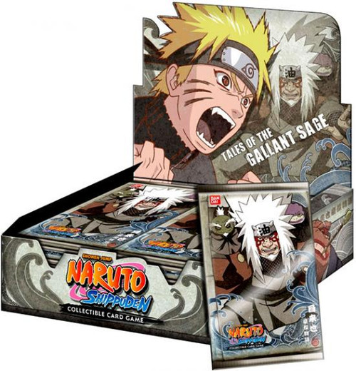 Naruto Shippuden Card Game Tales of the Gallant Sage Booster Box