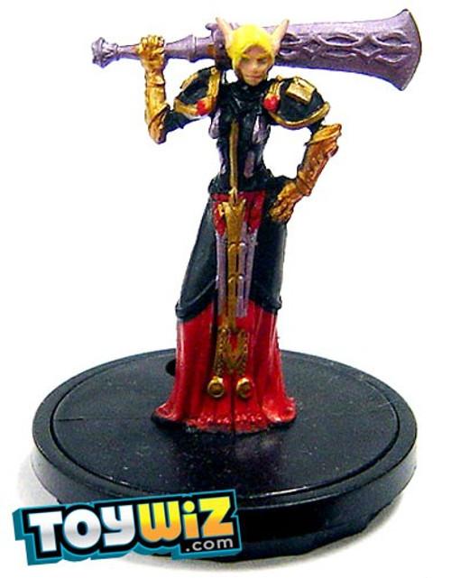 World of Warcraft Collectible Miniatures Game Core Set Aleyah Dawnborn