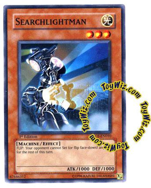 YuGiOh GX Enemy of Justice Common Searchlightman EOJ-EN010