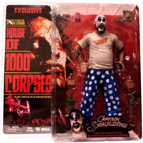 NECA House of 1000 Corpses Cult Classics Captain Spaulding Exclusive Action Figure [Hot Dog T-Shirt]