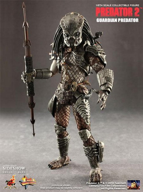Predator 2 Movie Masterpiece Guardian Predator Exclusive 1/6 Collectible Figure