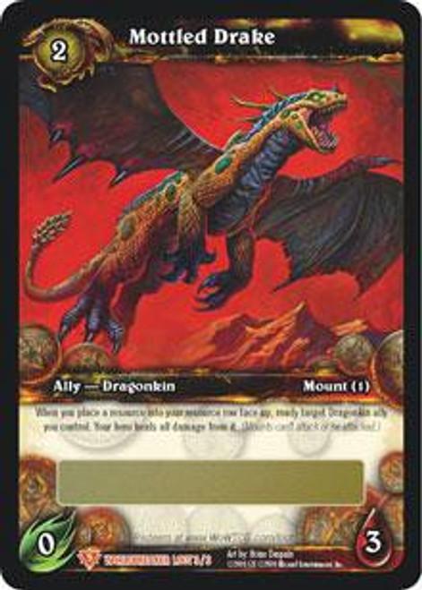 World of Warcraft Trading Card Game World Breaker Legendary Loot Mottled Drake #3