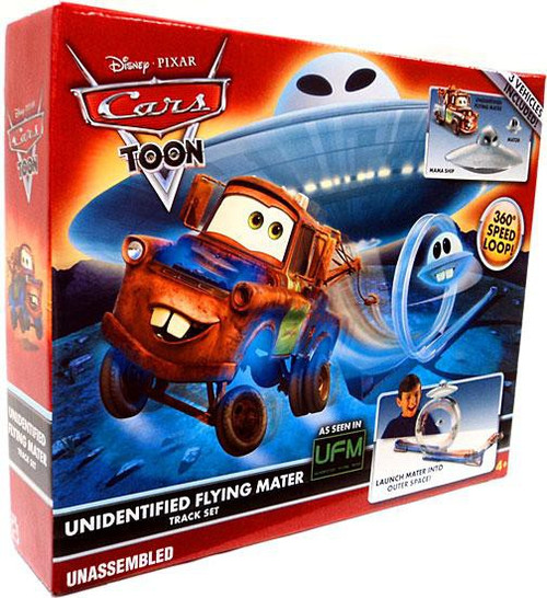 Disney Cars Cars Toon Playsets Unidentified Flying Mater Diecast Car Track Set