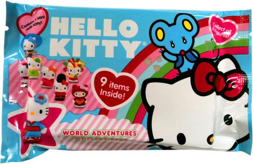 Hello Kitty Collectipak World Adventures Blue 2010 Mystery Pack [Contains 1 Figure]