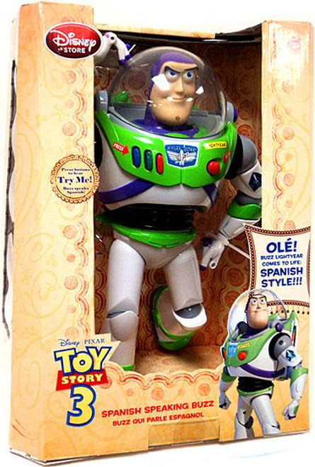 Disney Toy Story 3 Buzz Lightyear Exclusive 12 Inch Action Figure [Spanish Speaking]
