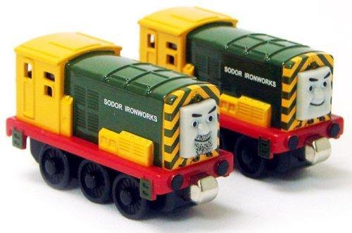 Thomas & Friends Wooden Railway Iron 'Arry & Iron Bert Diecast Train