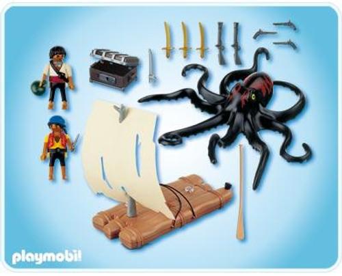 Playmobil Pirates Giant Octopus Set #4291