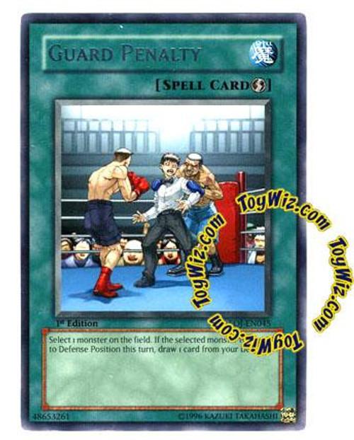 YuGiOh GX Enemy of Justice Rare Guard Penalty EOJ-EN045