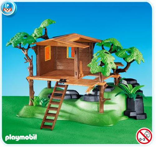 Playmobil Suburban Life Tree House Set #7937