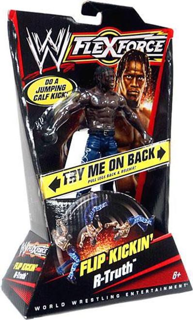 WWE Wrestling FlexForce Series 1 Flip Kickin' R-Truth Action Figure