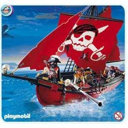 Playmobil Pirates Red Corsair Set #5869