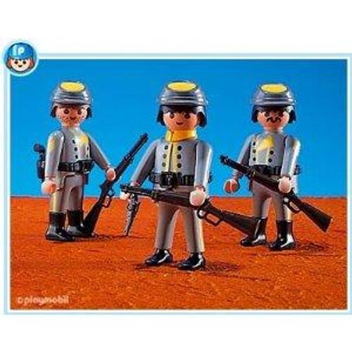 Playmobil Figures 3 Rebel Soldiers Set #7046