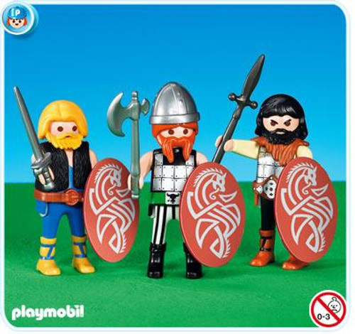 Playmobil Romans & Egyptians 3 Gauls Set #7924