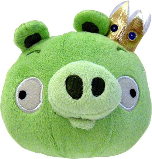 Angry Birds King Pig 8-Inch Plush [With Sound]
