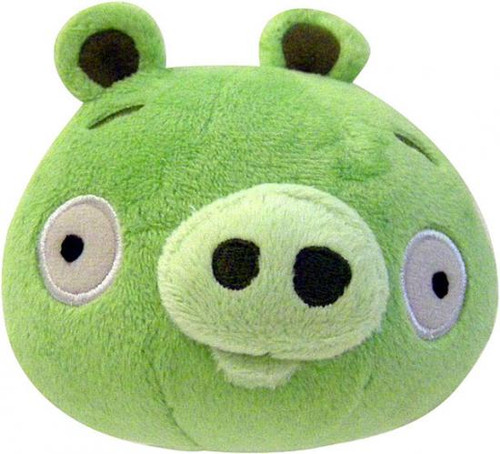 Angry Birds Neutral Pig 8-Inch Plush [With Sound]