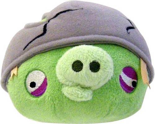 Angry Birds Helmet Pig 8-Inch Plush [With Sound]