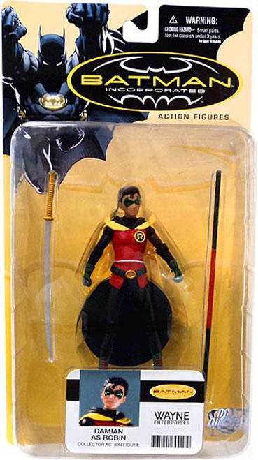 Batman Incorporated Series 1 Damian as Robin Action Figure