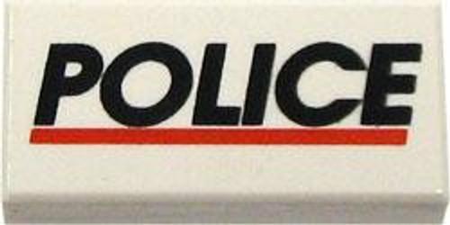 LEGO City Items Police Brick #3 [Loose]
