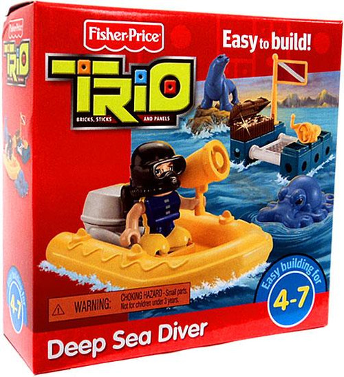 Fisher Price TRIO Deep Sea Diver Playset