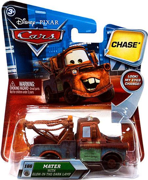 Disney Cars Lenticular Eyes Series 2 Mater with Glow In The Dark Lamp Diecast Car
