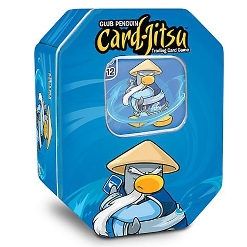 Club Penguin Card-Jitsu Water Series 4 Tin Set [Blue]