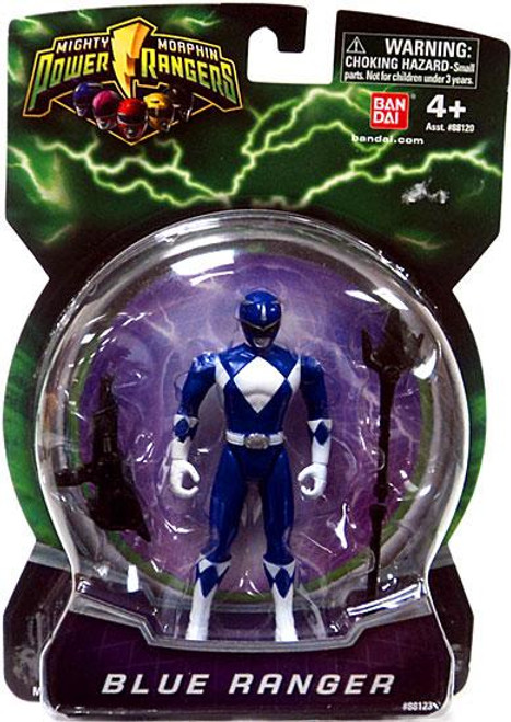 Power Rangers Mighty Morphin 2010 Blue Ranger Action Figure