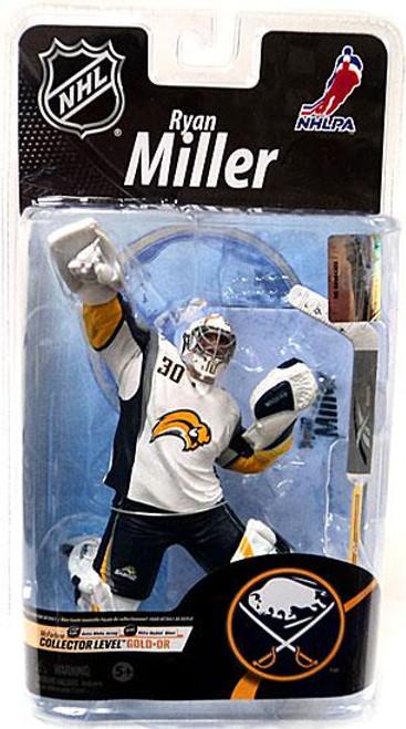 McFarlane Toys NHL Buffalo Sabres Sports Picks Series 26 Ryan Miller Action Figure [White Jersey]