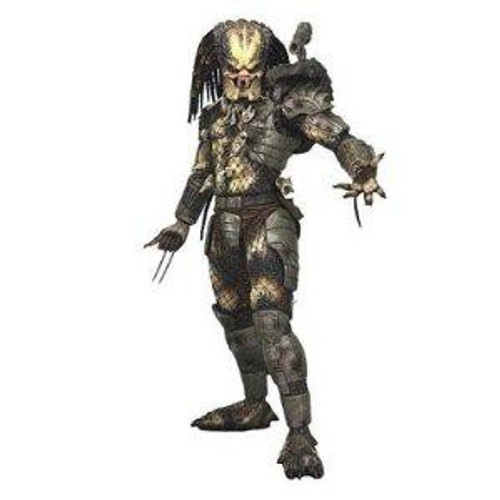 NECA Quarter Scale Classic Original Predator Action Figure [Closed Mouth]