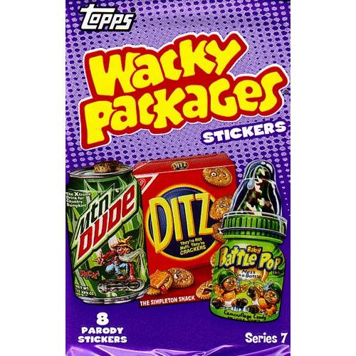 Wacky Packages Series 7 Trading Card Sticker Pack