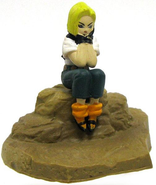 Dragon Ball Z Japanese Android 18 2-Inch PVC Figure
