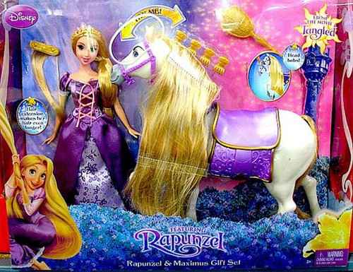 Disney Tangled Rapunzel & Maximus Gift Set Exclusive