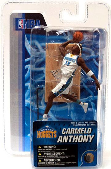 McFarlane Toys NBA Denver Nuggets Sports Picks 3 Inch Mini Carmelo Anthony Mini Figure