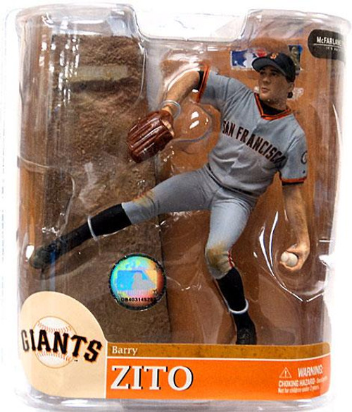 McFarlane Toys MLB Sports Picks Series 20 Exclusive Barry Zito (San Francisco Giants) Exclusive Action Figure [Gray Jersey]