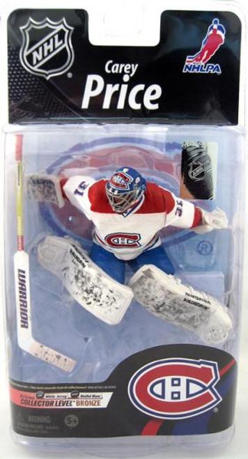 McFarlane Toys NHL Montreal Canadiens Sports Picks Series 26 Carey Price Action Figure [White Jersey]