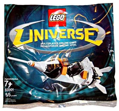 LEGO Universe Rocket Ship Exclusive Mini Set #55001 [Bagged]