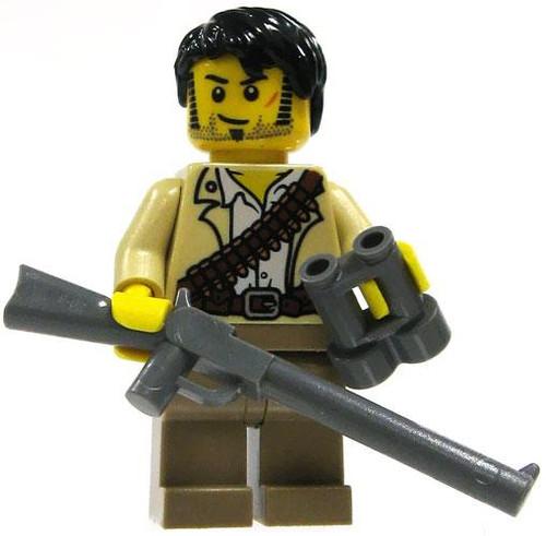 LEGO Pharaoh's Quest Loose Jake Raines Minifigure #1 [Loose]
