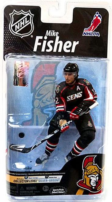 McFarlane Toys NHL Ottawa Senators Sports Picks Series 26 Mike Fisher Action Figure [Black Jersey]