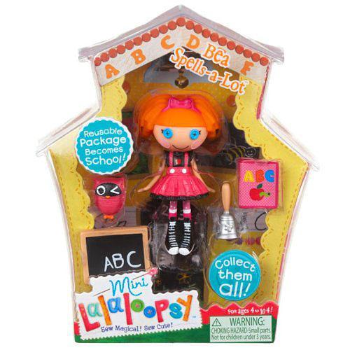 Lalaloopsy Bea Spells-A-Lot 3-Inch Mini Figure