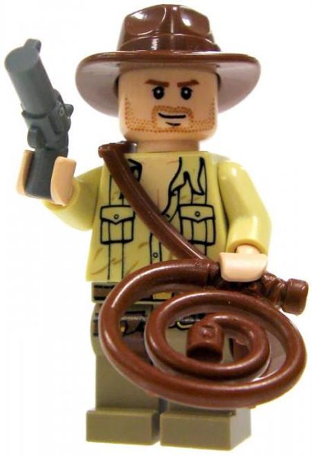 LEGO Loose Indiana Jones Minifigure [Fully Equipped, No Jacket Loose]