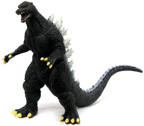 Super Deformed Tokyo Final Wars 2005 Godzilla 6-Inch Vinyl Figure [Loose]