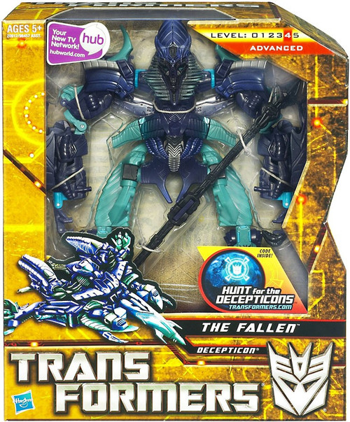 Transformers Hunt for the Decepticons The Fallen Voyager Action Figure