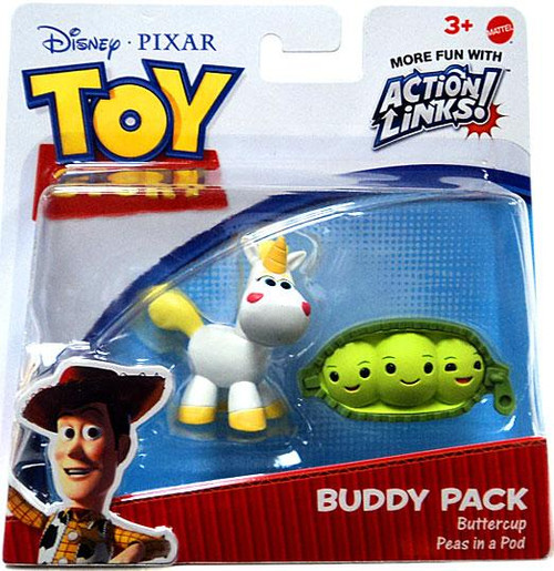 Toy Story Action Links Buddy Pack Buttercup & Peas in a Pod Exclusive Mini Figure 2-Pack