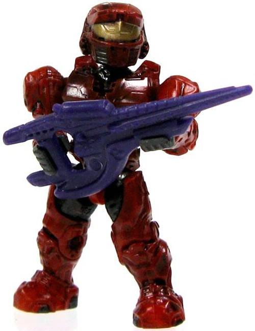 Mega Bloks Halo Loose Mark VI Spartan 2-Inch Minifigure [Red Loose]